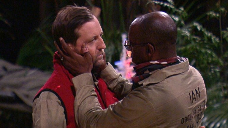 Ian Wright and Andrew Maxwell on I'm A Celebrity... Get Me Out Of Here!