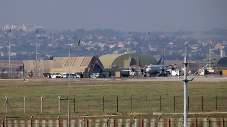 Incirlik air base in Turkey