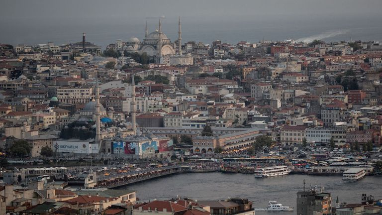 Raids in Turkey's biggest city of Istanbul rounded up 24 people