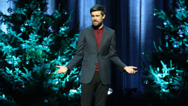 Jack Whitehall in Christmas With My Father. Pic: Netflix