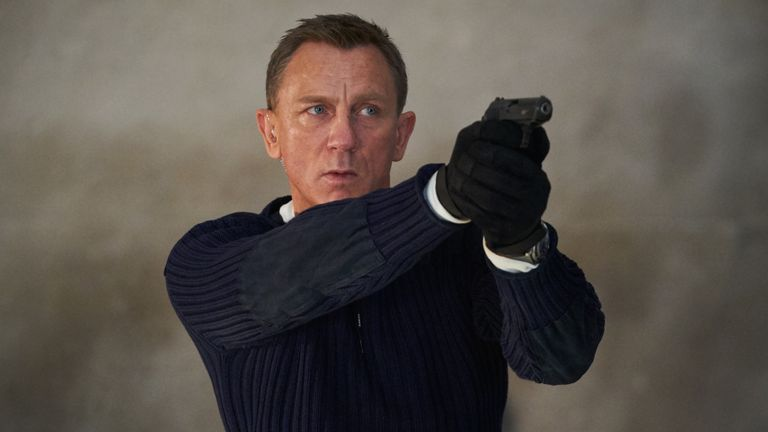 James Bond (Daniel Craig) in No Time To Die. Pic. Universal Pictures
