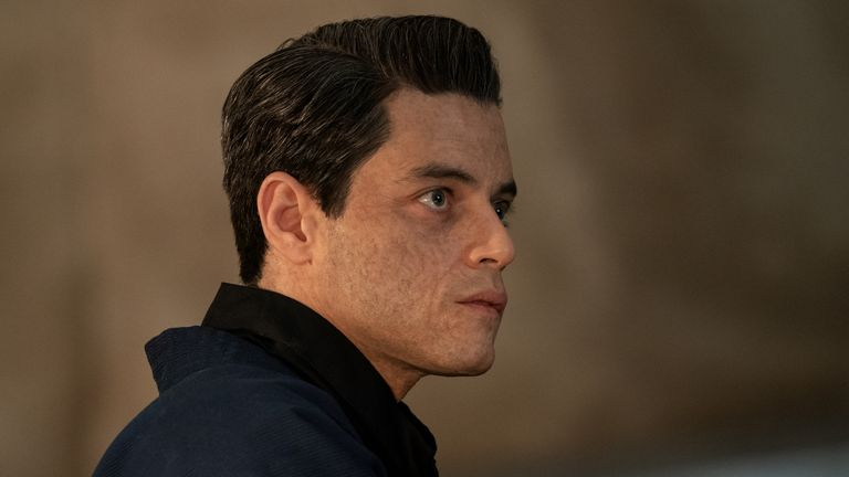 Safin (Rami Malek) in James Bond: No Time To Die