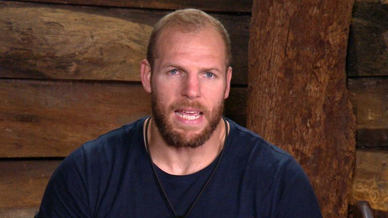 James Haskell in I'm A Celebrity... Get Me Out Of Here!