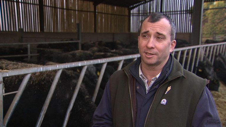 James Small, a farmer, believes quality meat should be part of our diet