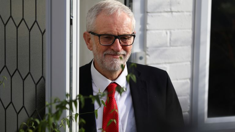 Jeremy Corbyn considers future after a disastrous night for Labour