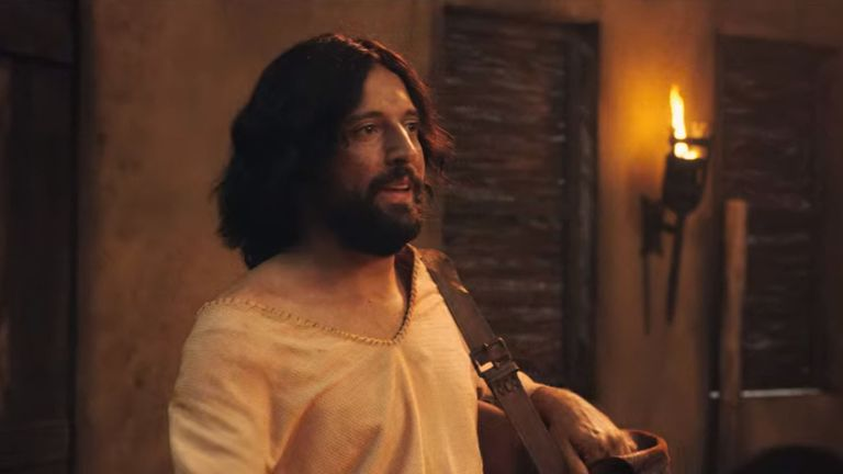 Jesus is approaching his 30th birthday in the film. Pic: Netflix