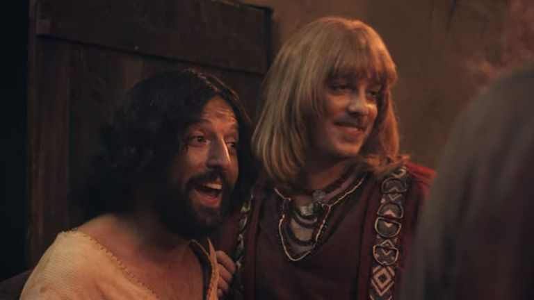 Jesus (left) and his friend, Orlando. Pic: Netflix