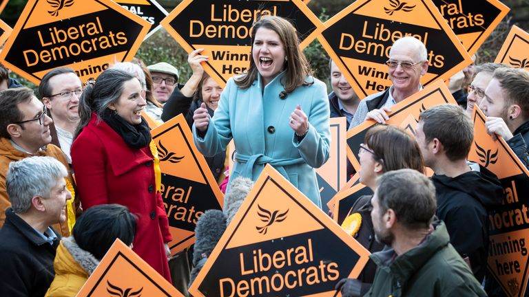 The Lib Dems appeared to soften their stance on an outright Brexit cancellation