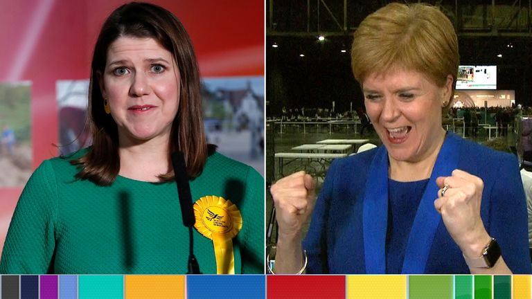 Jo Swinson and Nicola Sturgeon