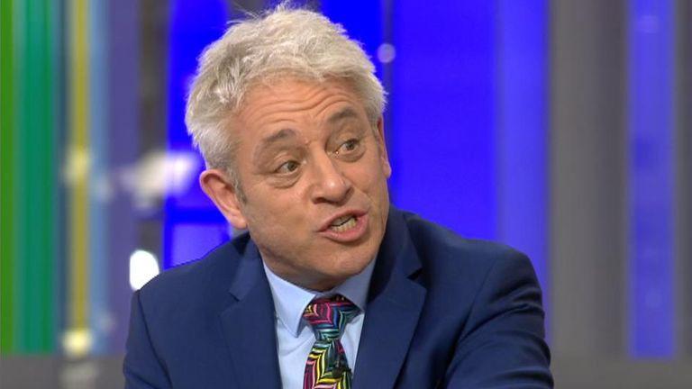 Ex-Commons speaker John Bercow said Jo Swinson's speech was 'extremely gracious'