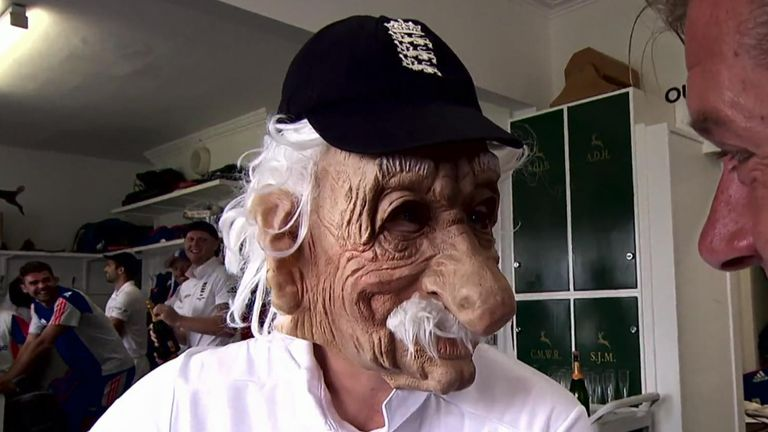 England cricketer Joe Root famously impersonated Bob Willis.