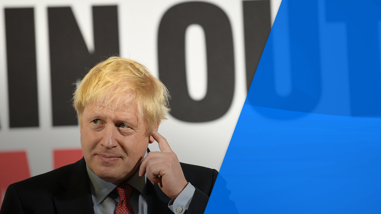 Boris Johnson wants to 'Get Brexit Done'