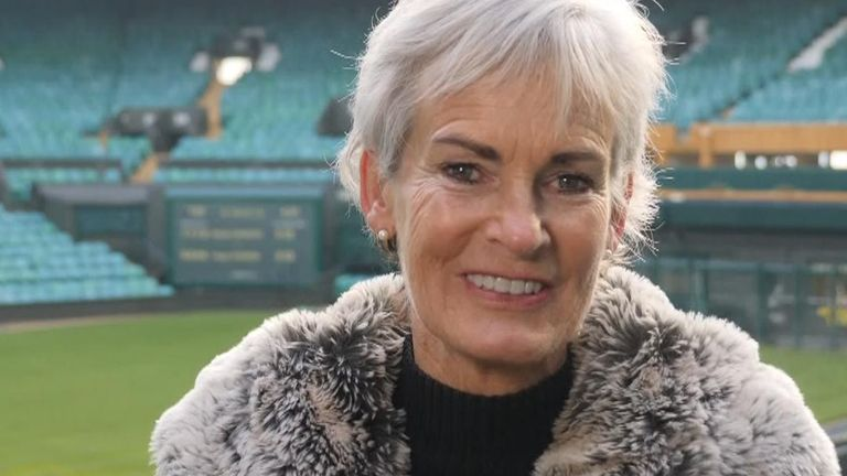 Judy Murray is receiving award for service to tennis