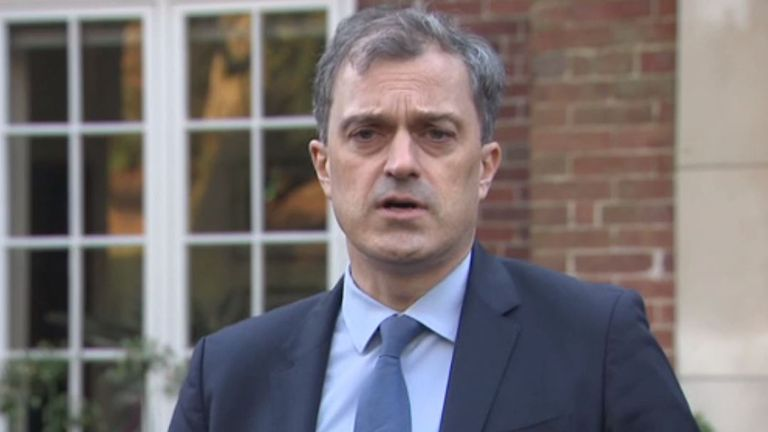 Julian Smith, secretary of state for Northern Ireland, said the situation must be resolved