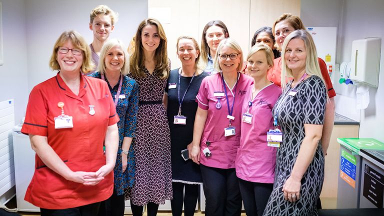 """Kate says midwives their work is of """"fundamental importance"""""""
