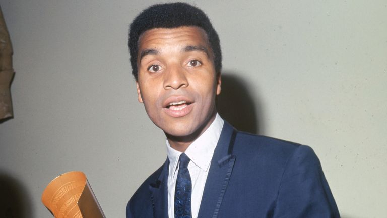 Kenny Lynch in 1965
