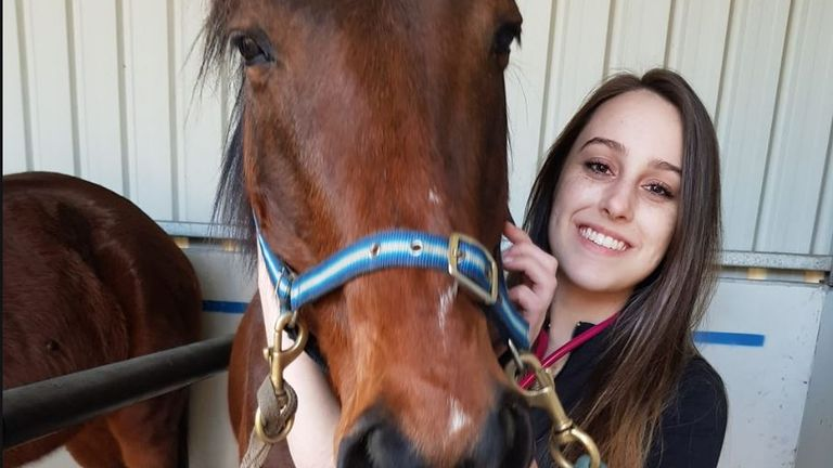Krystal Eve Browitt was a 21-year-old veterinary nurse from Melbourne. Pic: Facebook/Krystal Eve Browitt