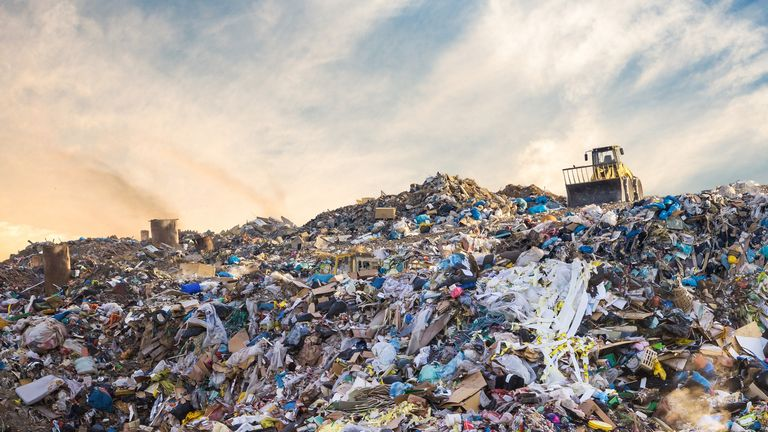 Oxfam says each week 11 million garments end up inlandfill