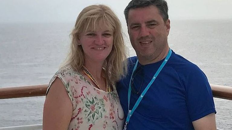 Anthony and Kristine Langford and their two teenage children are among those feared missing