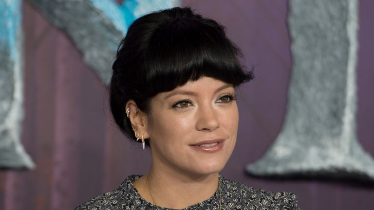 Lily Allen says she's quit Twitter and says it's a vehicle for right wing politics