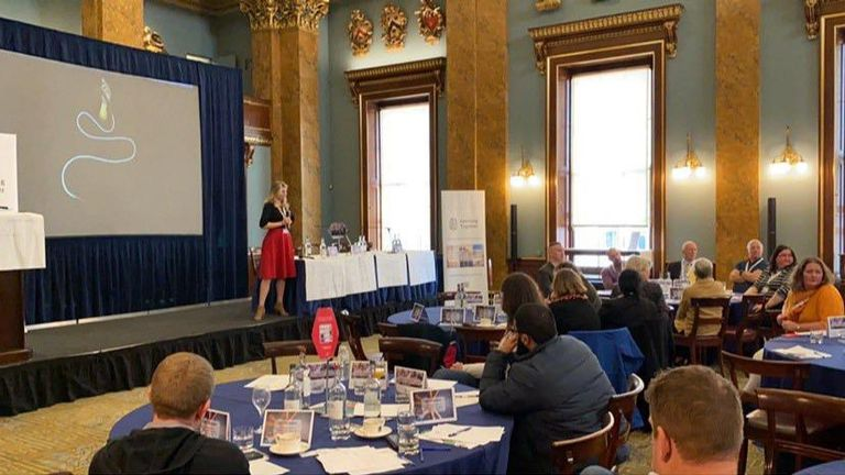 A photo has emerge o the Learning Together conference in Fishmongers' Hall before the London Bridge attack