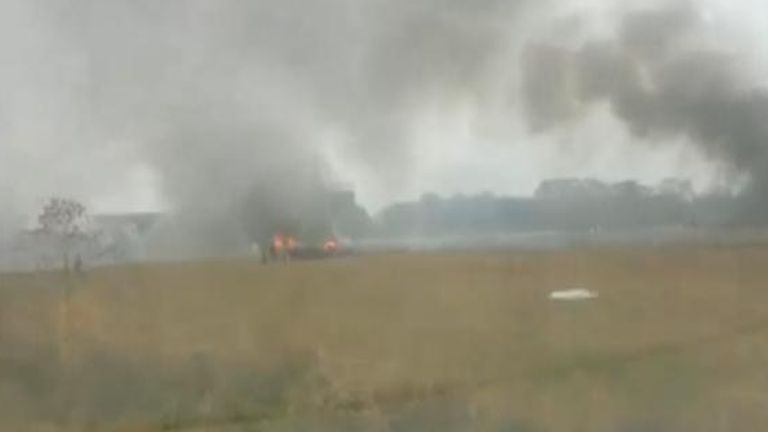 Five people were killed in a plane crash in Louisiana