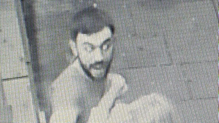 This bearded man is also wanted by police