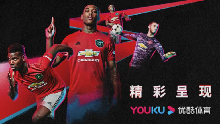 The deal gives Manchester United access to 700 million customers across Alibaba's platforms