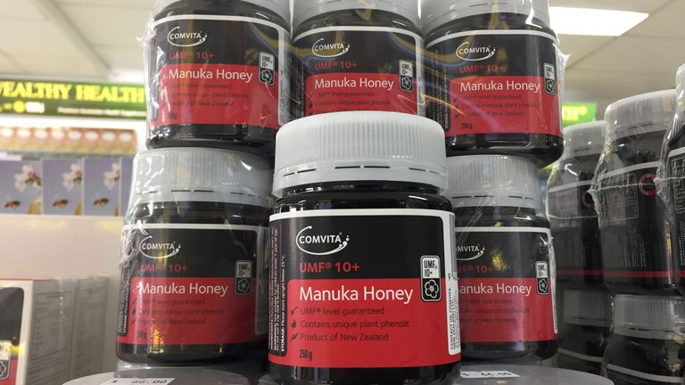 Manuka honey has both antibacterial and antimicrobial properties