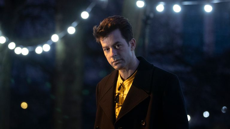 Mark Ronson has created a special soundtrack to accompany the fireworks in Edinburgh