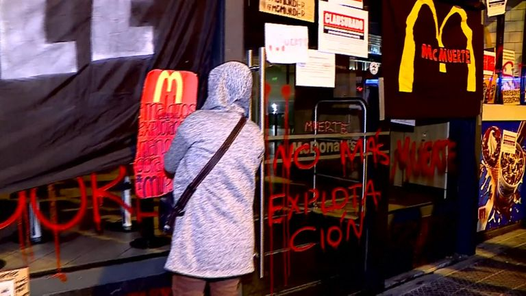 McDonald's manager says faulty drinks machine caused two deaths