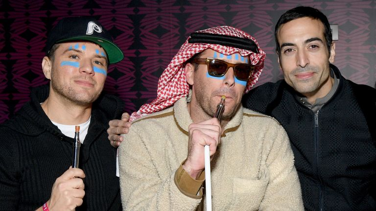Ryan Phillippe, Armie Hammer and Mohammed Al Turki attend the MDL Beast Festival