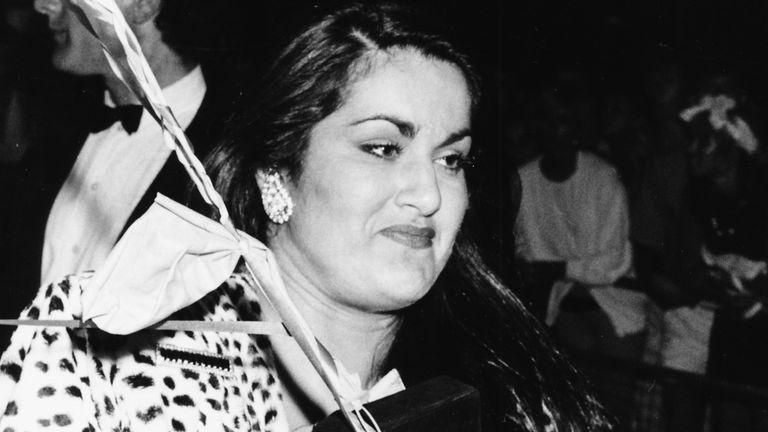 Melanie Panayiotou in 1986