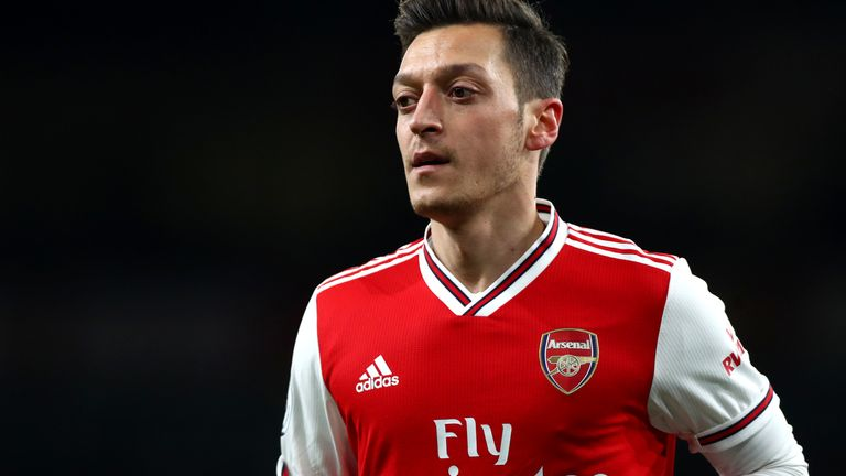 Mesut Ozil has criticised Muslims for their silence on the treatment of the Uighurs