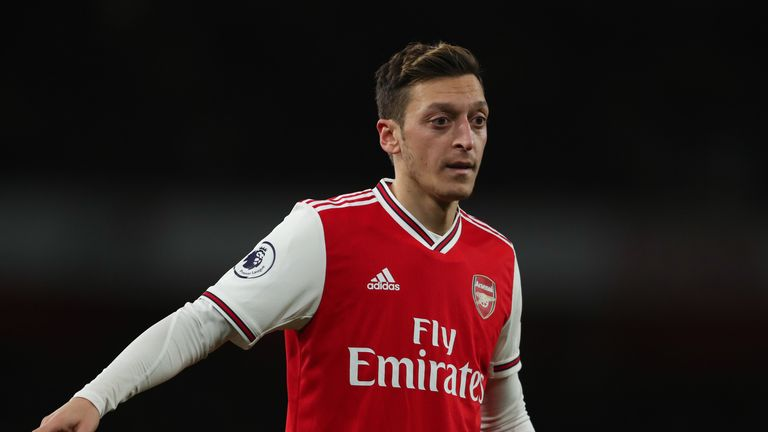 Mesut Ozil has criticised China over its policies towards Uighur Muslims