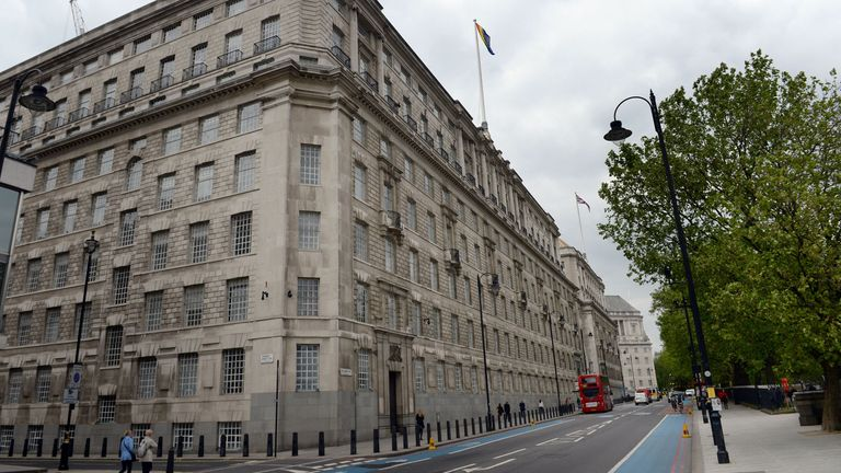 MI5 headquarters