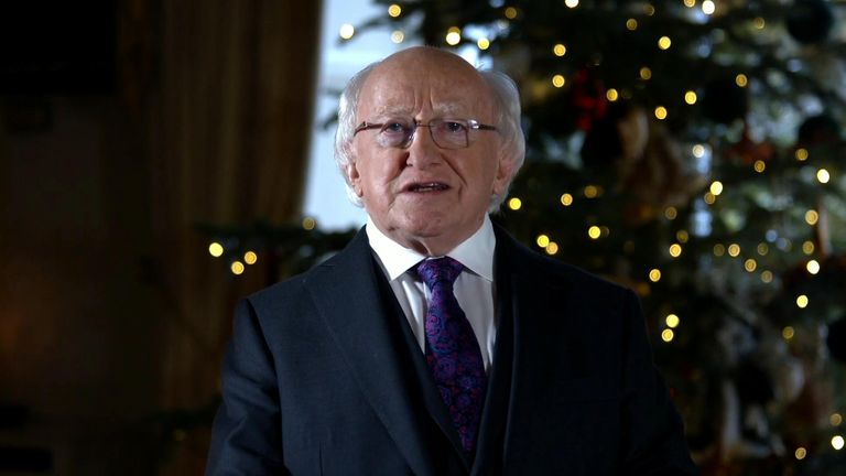 Irish President Michael D. Higgins