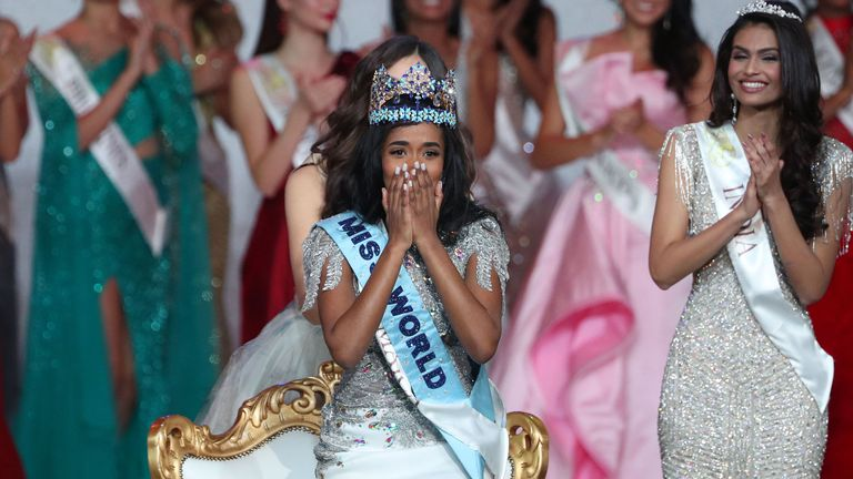 Miss Jamaica 2019, Toni-Ann Singh, is announced Miss World 2019