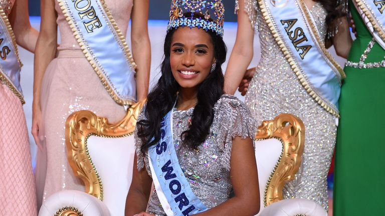 Toni-Ann Singh, 23, has won the 2019 Miss World competition
