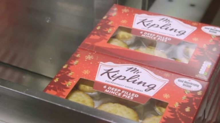 Mr Kipling is part of Premier Foods