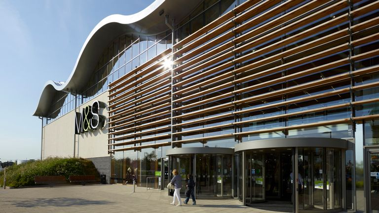 The M&S store at Cheshire Oaks in Ellesmere Port. Pic: M&S