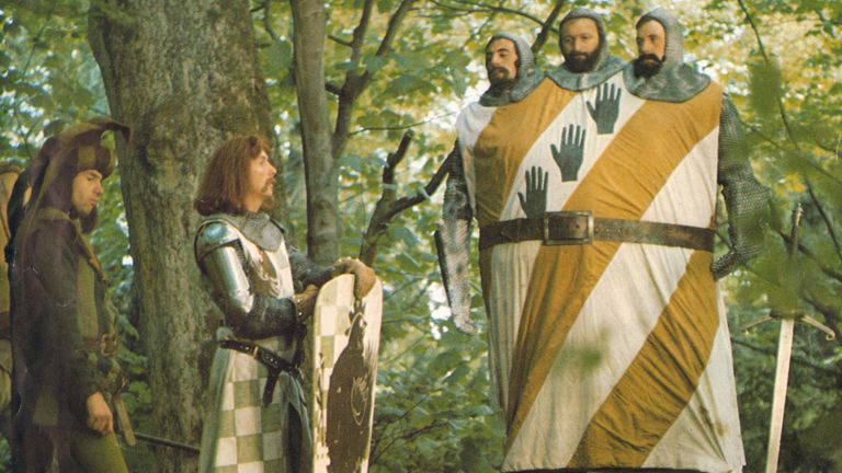 Monty Python And The Holy Grail, Neil Innes, Eric Idle, Terry Jones, Graham Chapman, Michael Palin, 1975