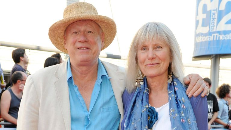 Neil Innes with His Wife Yvonne