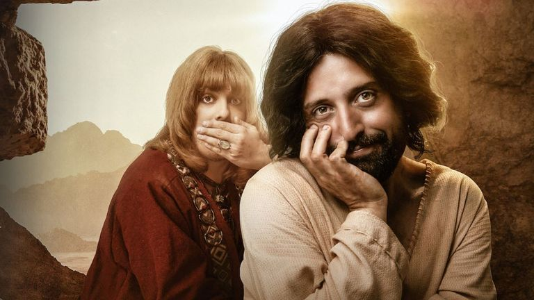 Jesus (right) and his friend Orlando. Pic: Netflix