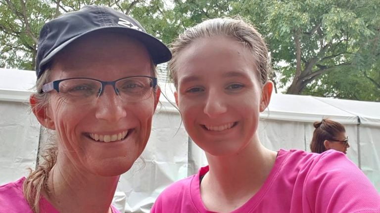 Julie Richards and her daughter are among the missing. Pic: Barbara Whitehead