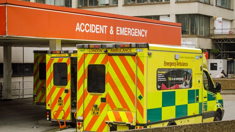 Accident and Emergency departments have had an increase in patients