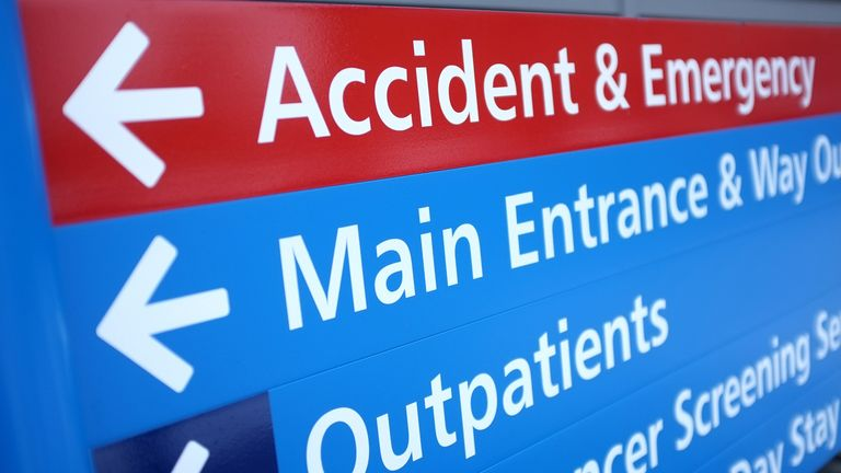 NHS Accident and Emergency services have been under pressure