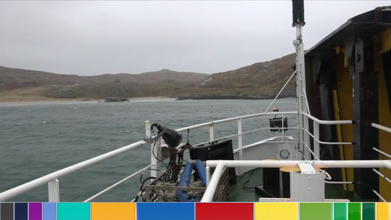 The Isle of Barra is in the Outer Hebrides, one of the UK's most remote marginal constituencies