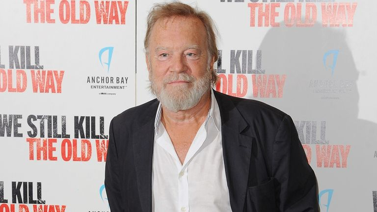 "Nicky Henson attends a photocall for ""We Still Kill The Old Way"" at Ham Yard Hotel on September 29, 2014 in London"