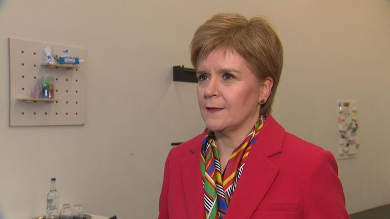 "SNP leader Nicola Sturgeon says the election result ""renews, reinforces and strengthens"" the mandate for another referendum on Scottish independence."